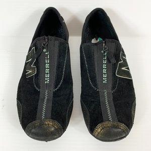 Merrell Barrado Sneaker Women's Size 8 Black Gold